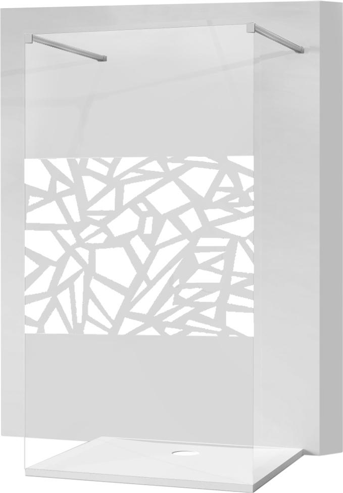 MEXEN KIOTO SPRCHOVÁ STENA 120x200 8mm sklo