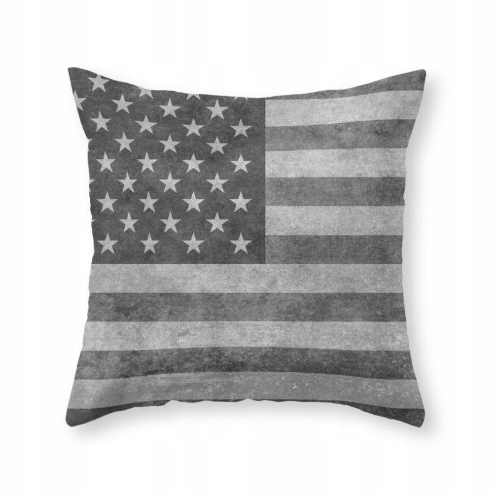 Americká vlajka - kryt na retro vankúš