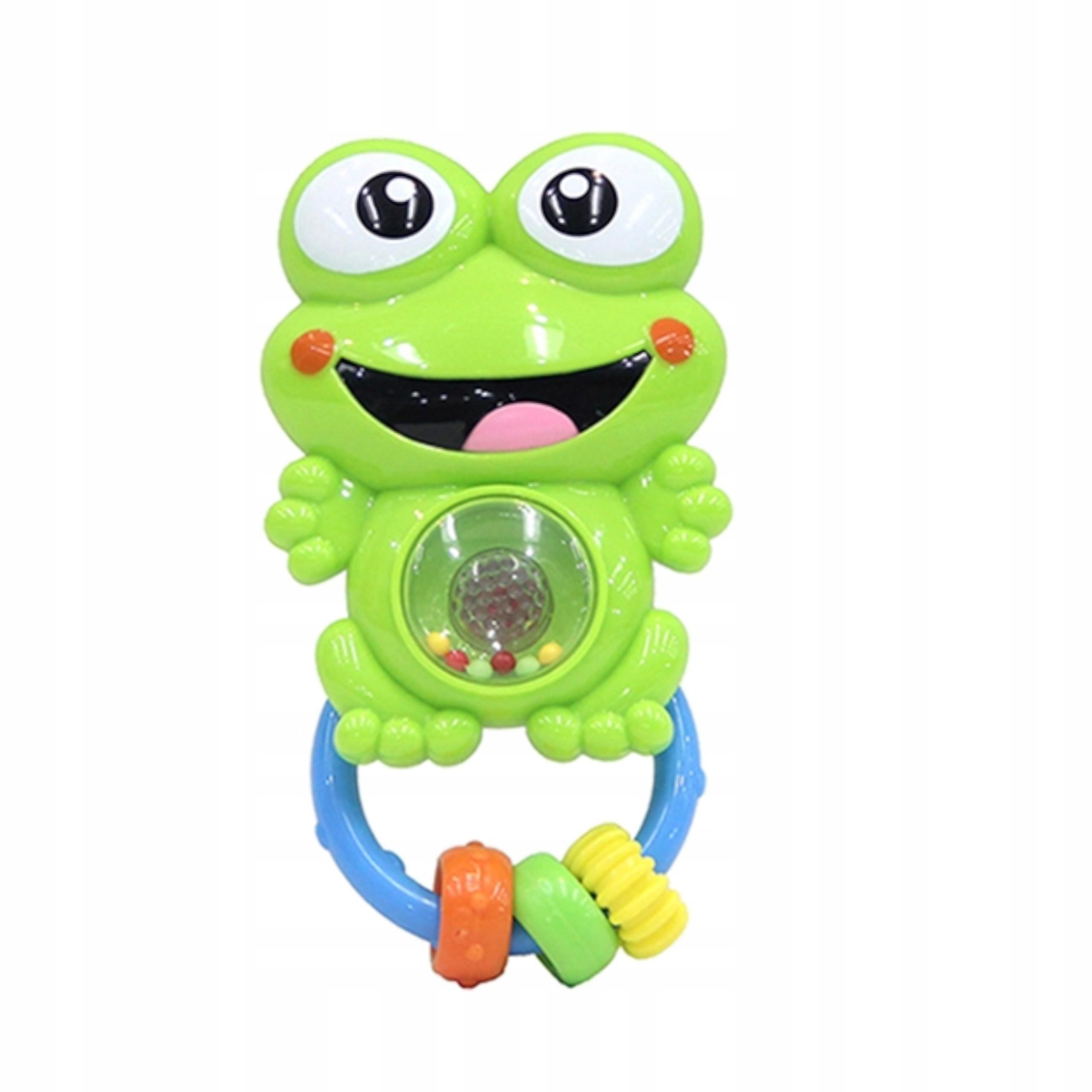 Grzechotka sensoryczna żabka melodyjki światła 80 Kod producenta 6680