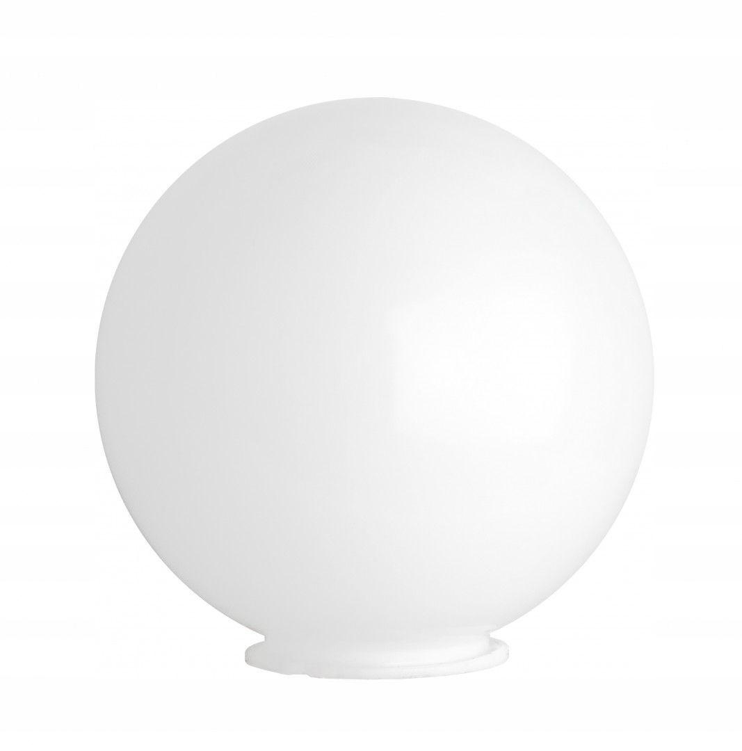 Абажур для садового светильника, молочно-белый, 40 см