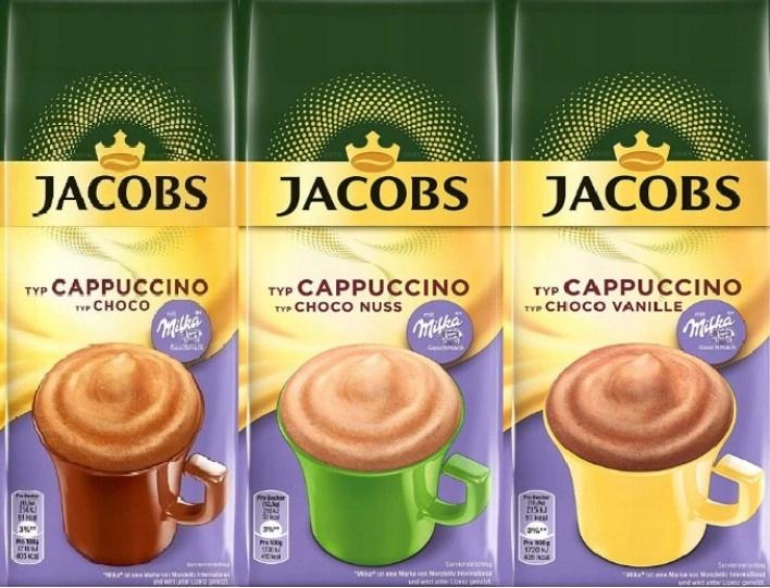 Milka JACOBS CAPPUCCINO CHOCO SET 3x500 г = 1,5 кг