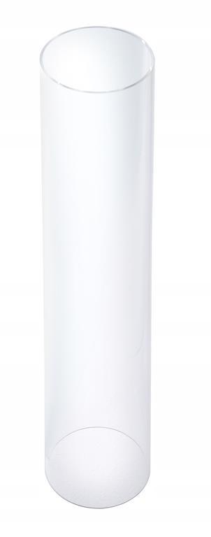 Sklenená plynová lampa Hendi-Tuba
