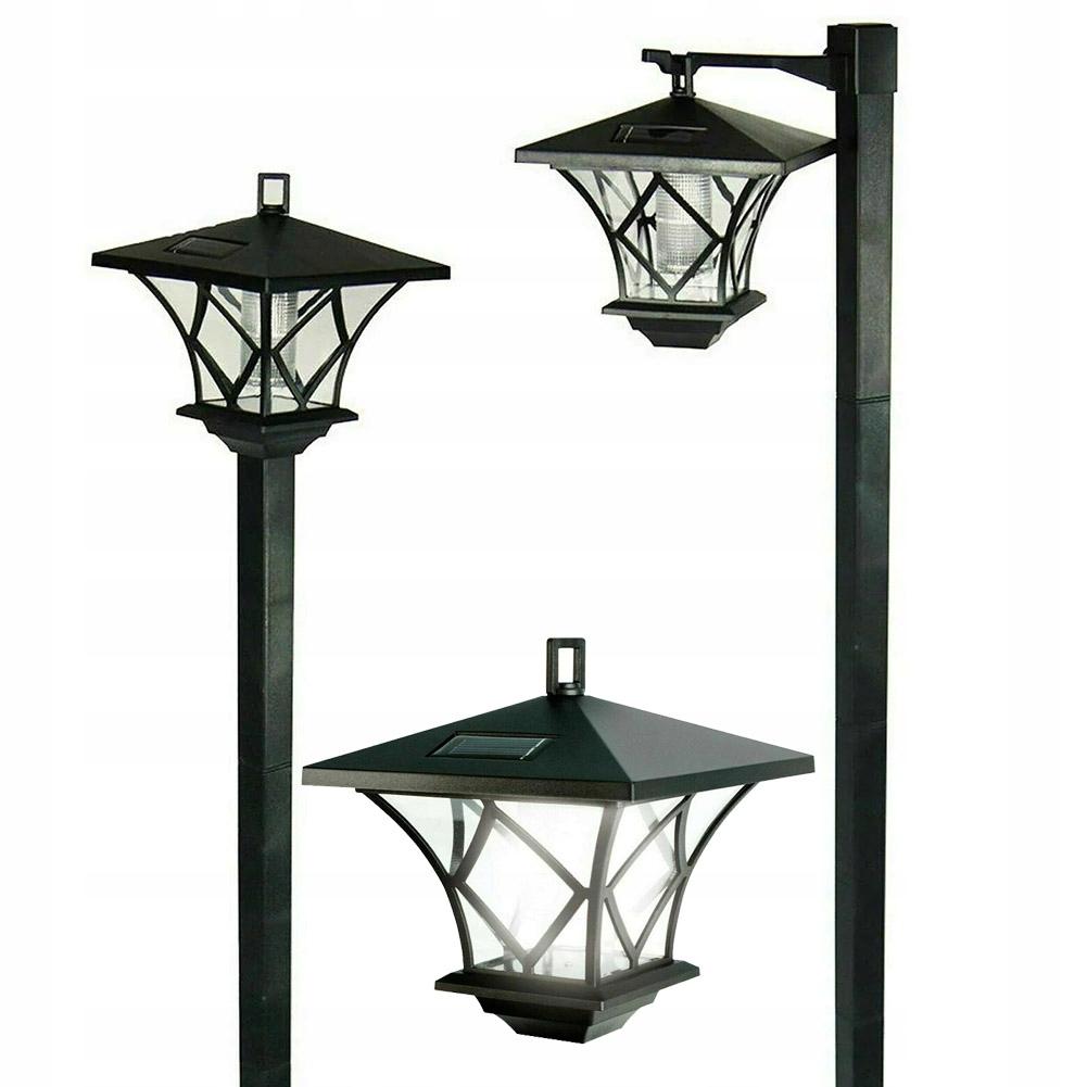 Lampka ogrodowa SOLARNA Latarnia wysoka 150cm LED