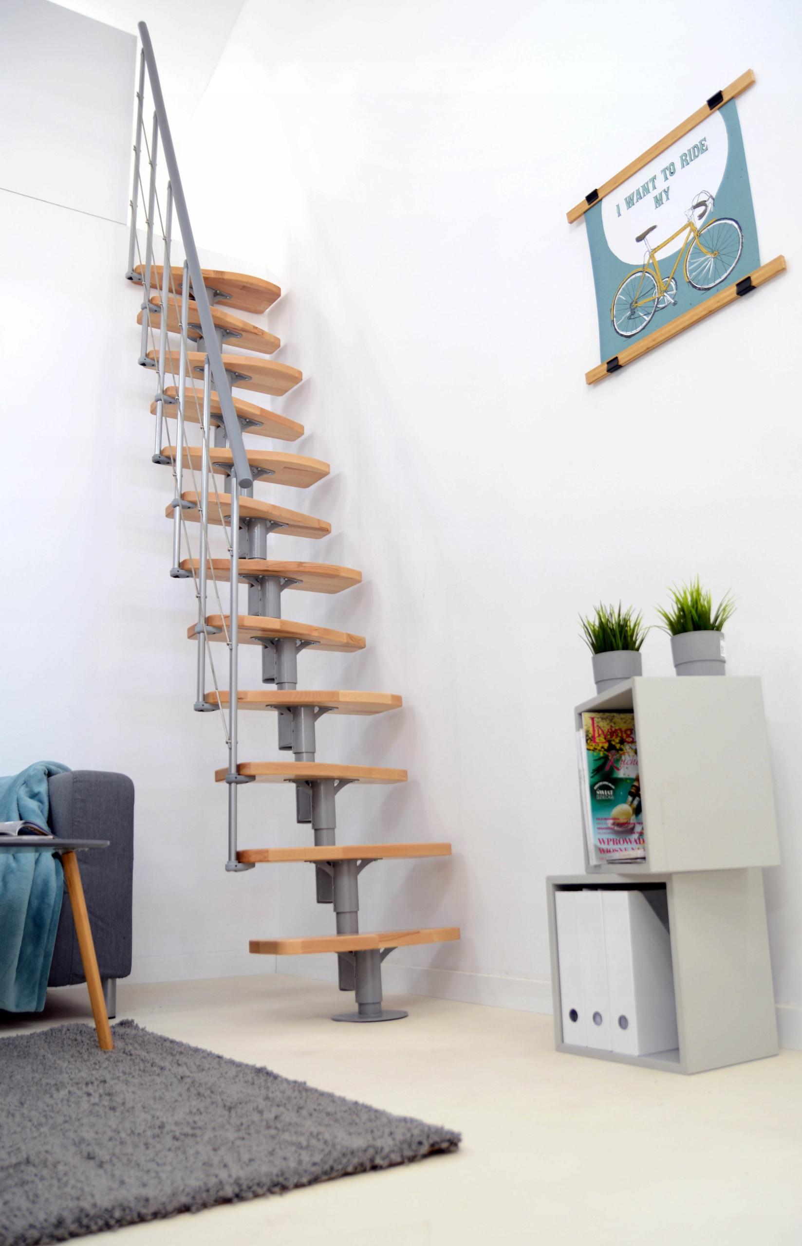УДАРЯТЬ! Модульная лестница Ницца высота 296 ступенек / Бук