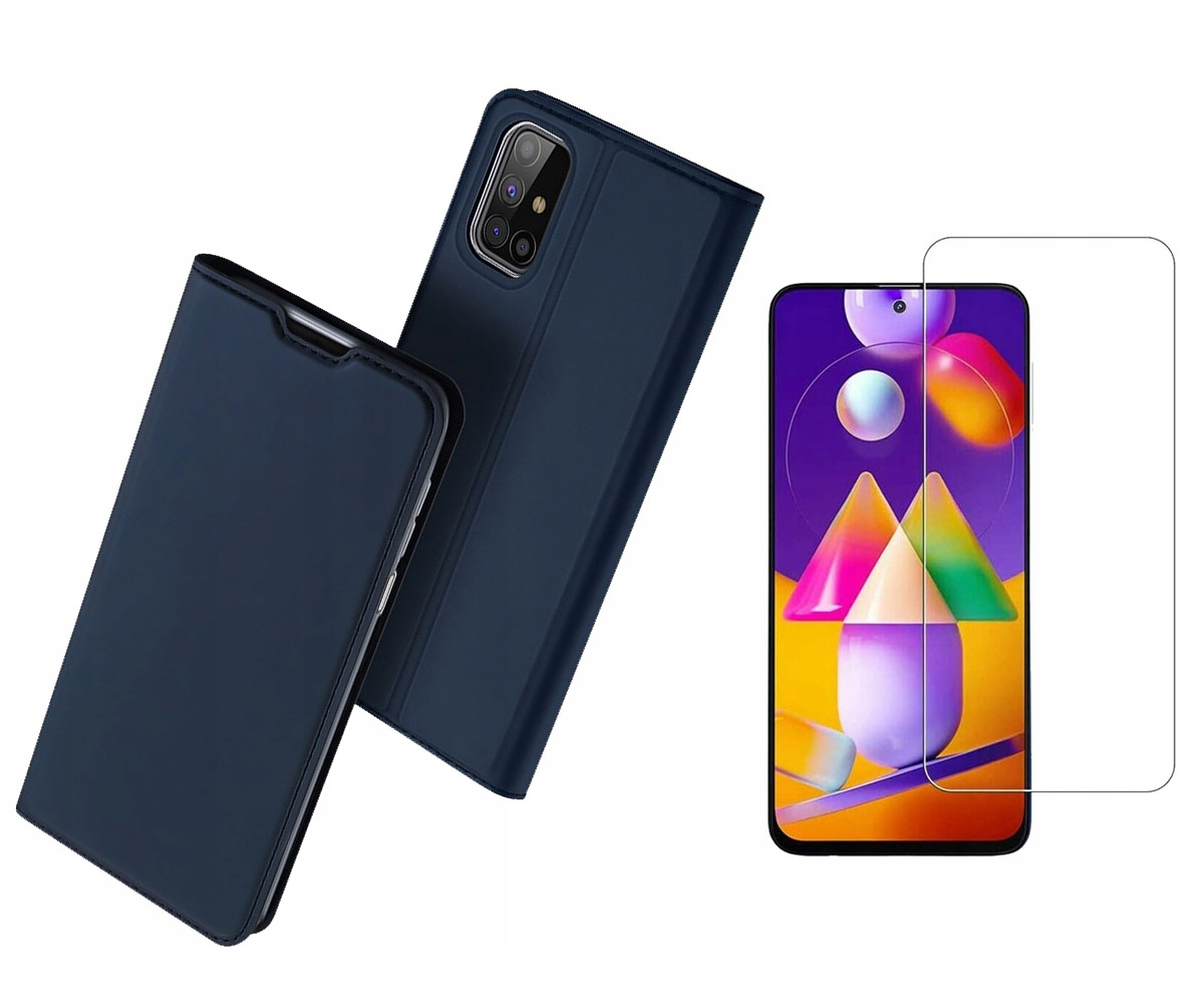 Etui DUX DUCIS + szkło do Samsung Galaxy M31s