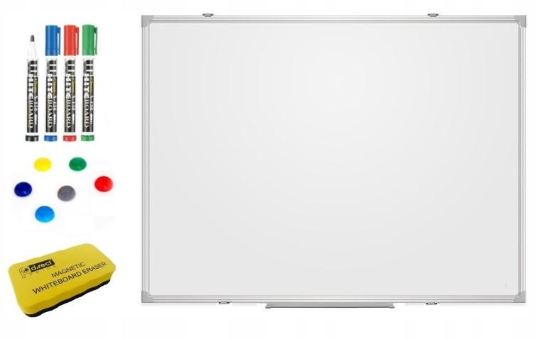 Tablica Biała suchościeralna magnetyczna 60x45