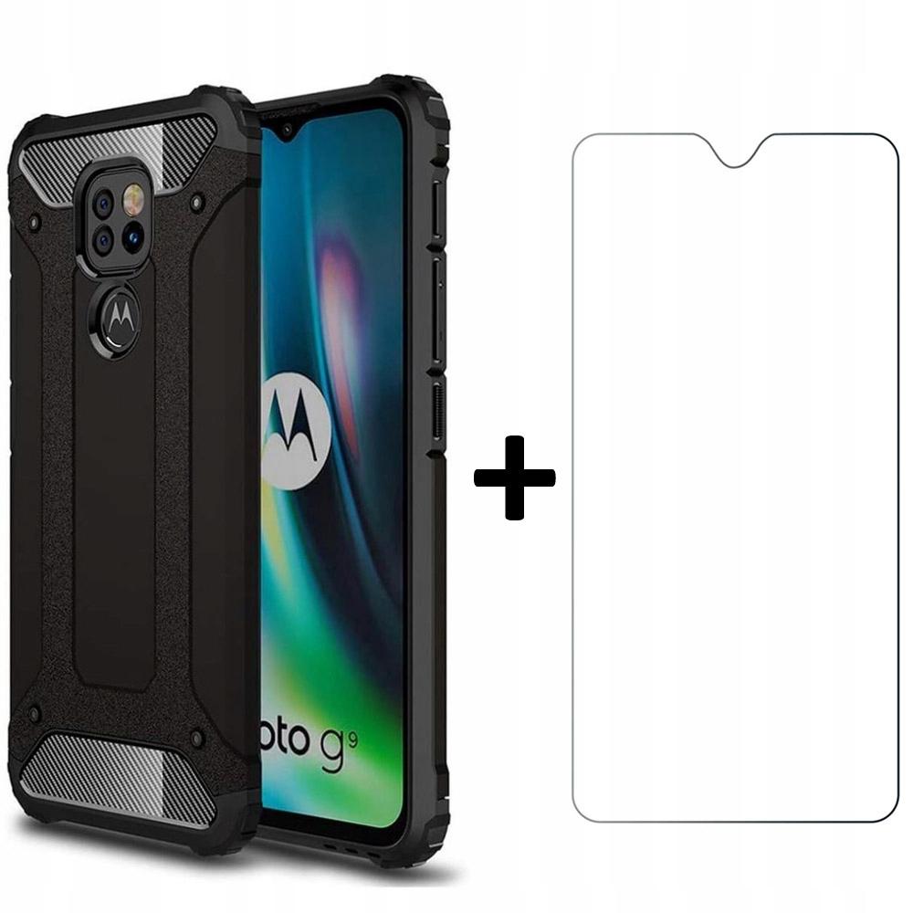 Etui Xarmor + szkło do Motorola G9 Play / E7 Plus