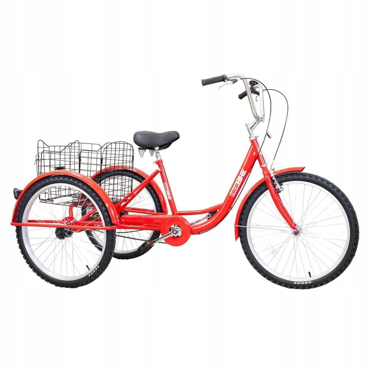 Bike 3-koliesko trojkolka rehabilitačné kolesa 24