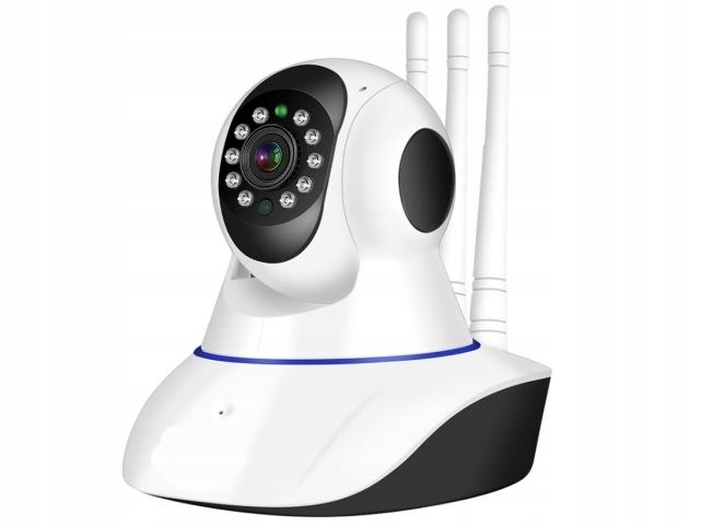 Kamera Wifi Niania Ip P2P Hd Monitoring 3 Anteny