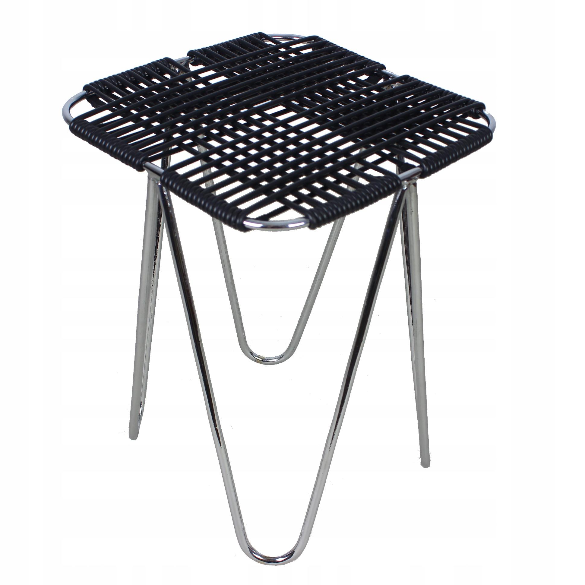 Культовый хромированный стул по проекту В. Волковский.