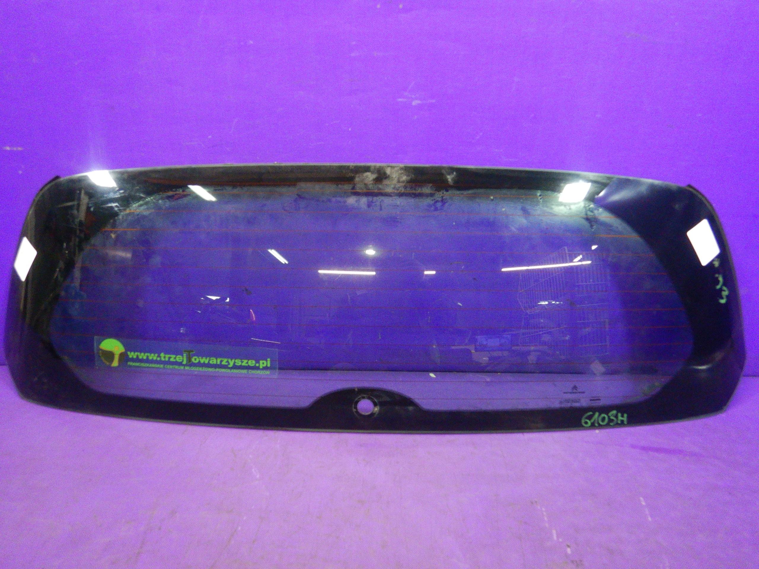 citroen c2 03- стекло сзади мост люка багажник