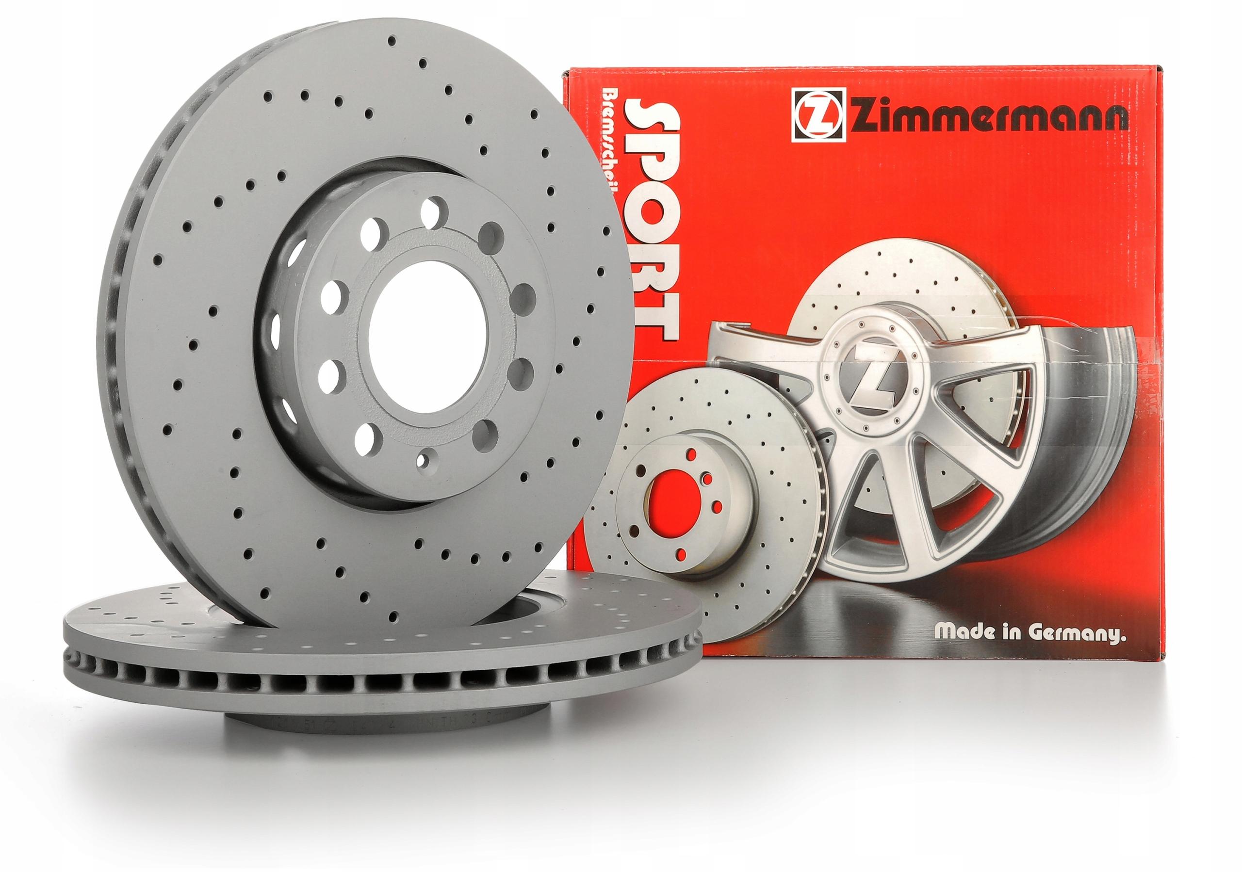 диски zimmermann спорт вперед - audi a6 c6 321mm
