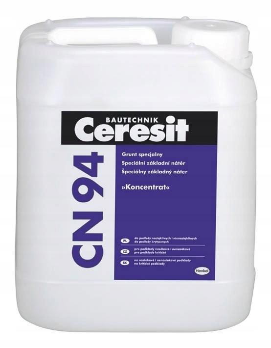 Специальный грунт - концентрат Ceresit CN94 5L