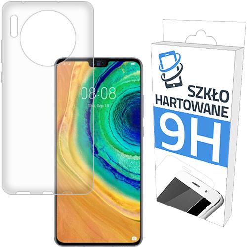 Etui Slim + Szkło Hartowane do Huawei Mate 30