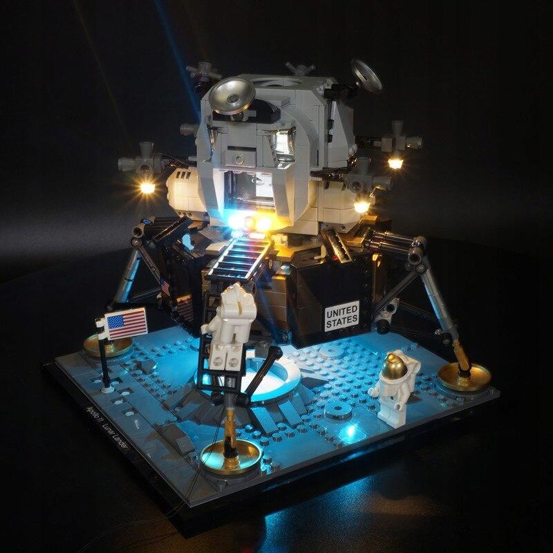 LED svetlá pre sadu LEGO 10266 NASA Apollo 11