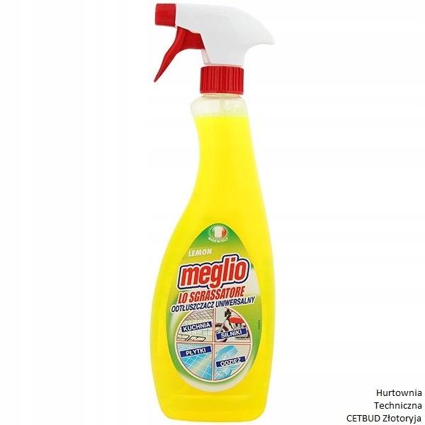 MEGLIO ODTŁUSZCZACZ UNIWERSALNY LEMON Spray 750 ml