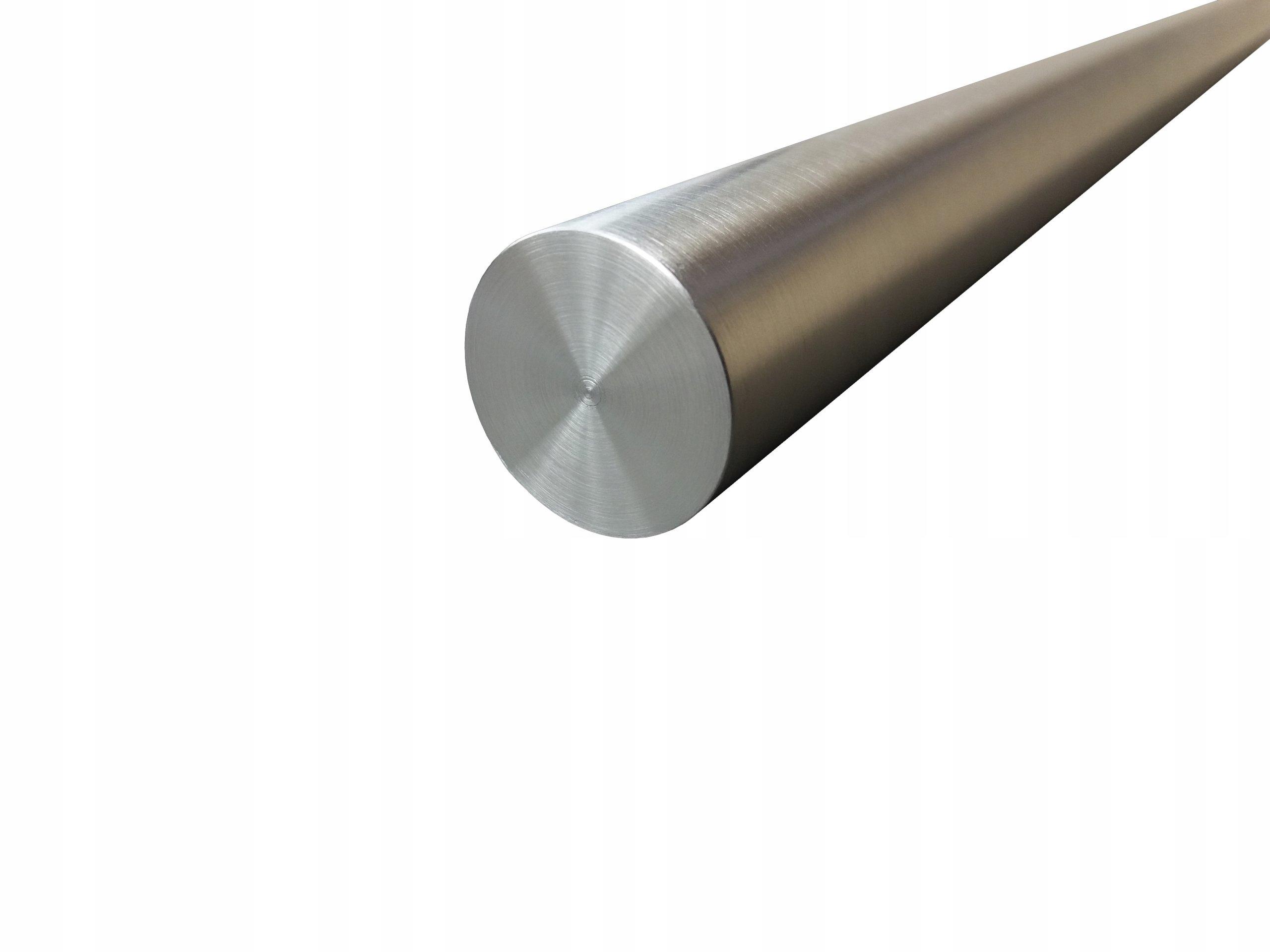 Nerezová tyčová kyselina odolná voči fi 60 mm 20 cm inox