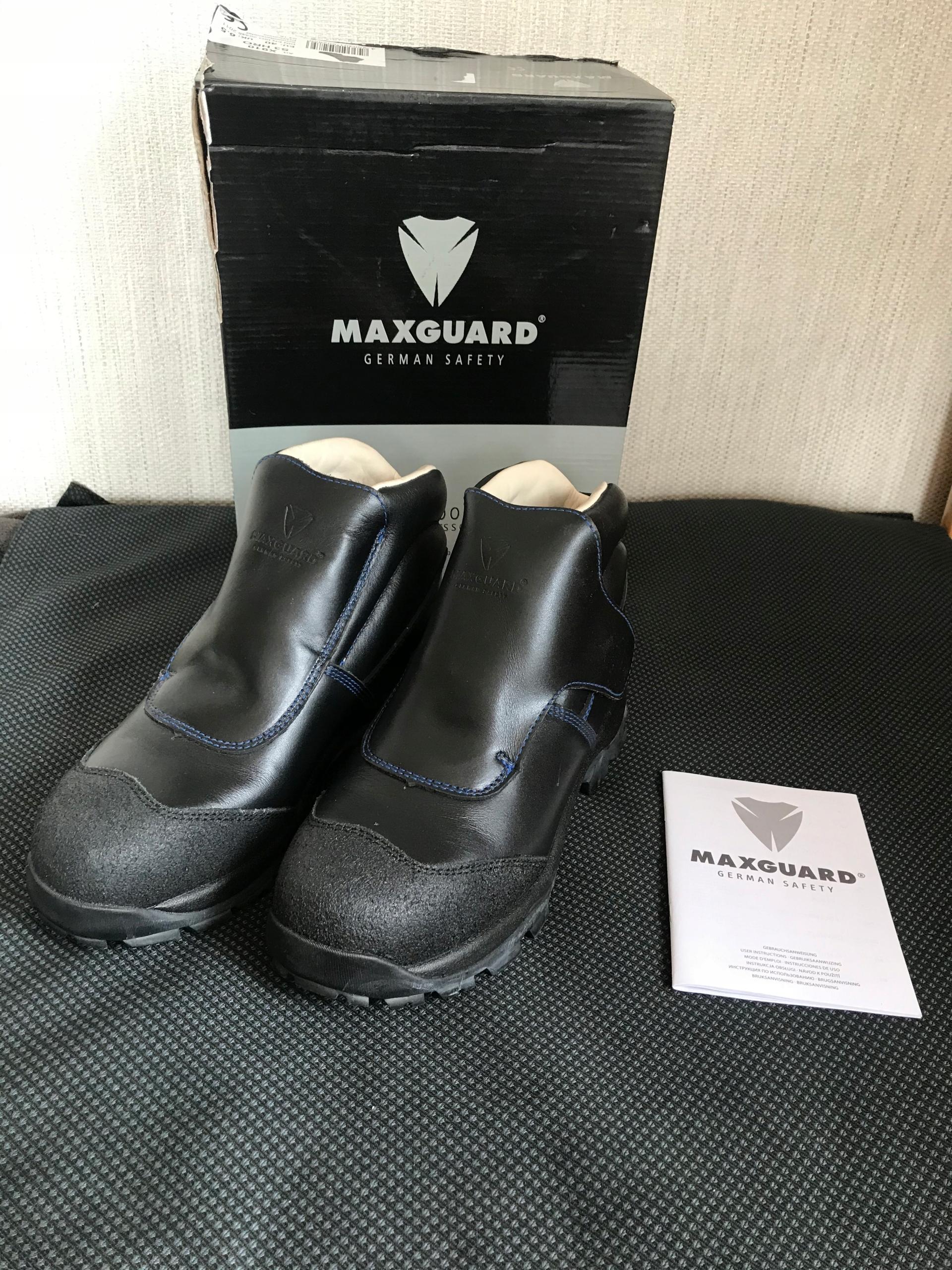 MAXGUARD OBUWIE BUTY ROBOCZE OCHRONNE R.40