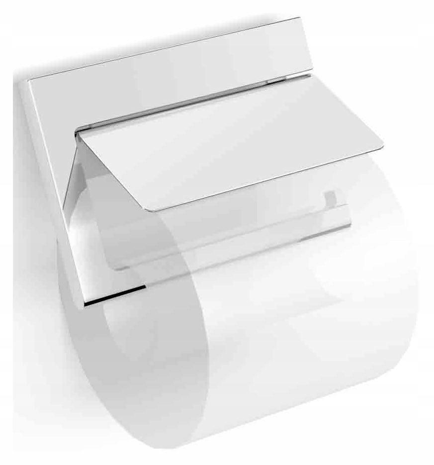Držiak na toaletný papier s chlopňou