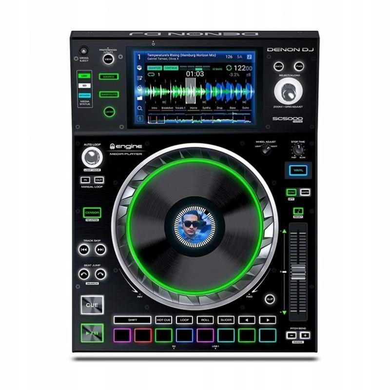 Item DENON SC5000 DJ PREMIER digital player, player DJ