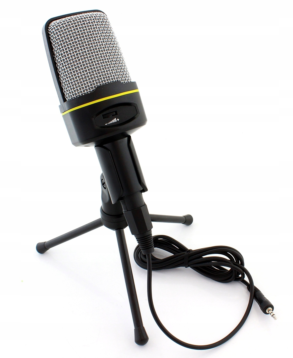 Item CONDENSER MICROPHONE WITH STAND HOLDER FOR STUDIO