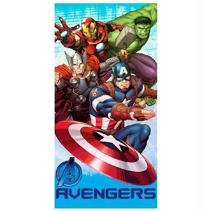Plážový uterák divý - Avengers 70x140 cm ver .3