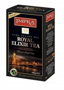 Черный рассыпной чай Impra Royal Elixir Tea ce