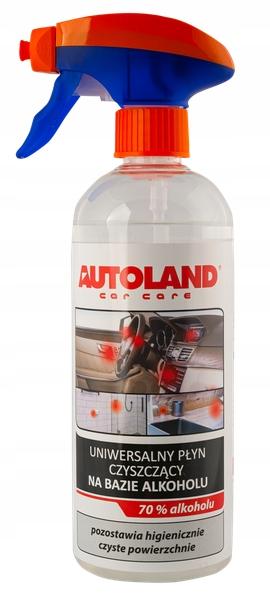 Дезинфицирующее средство Autoland жидкий спирт 70 500 мл