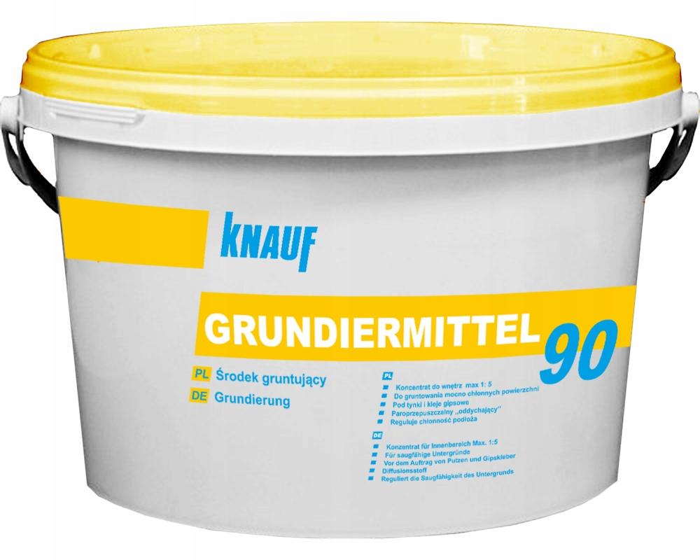 KNAUF GRUNDIERMITTEL 90 środek gruntujący 15 Kg