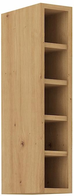 horná otvorená kuchynská skrinka 15 cm remeselník RETRO