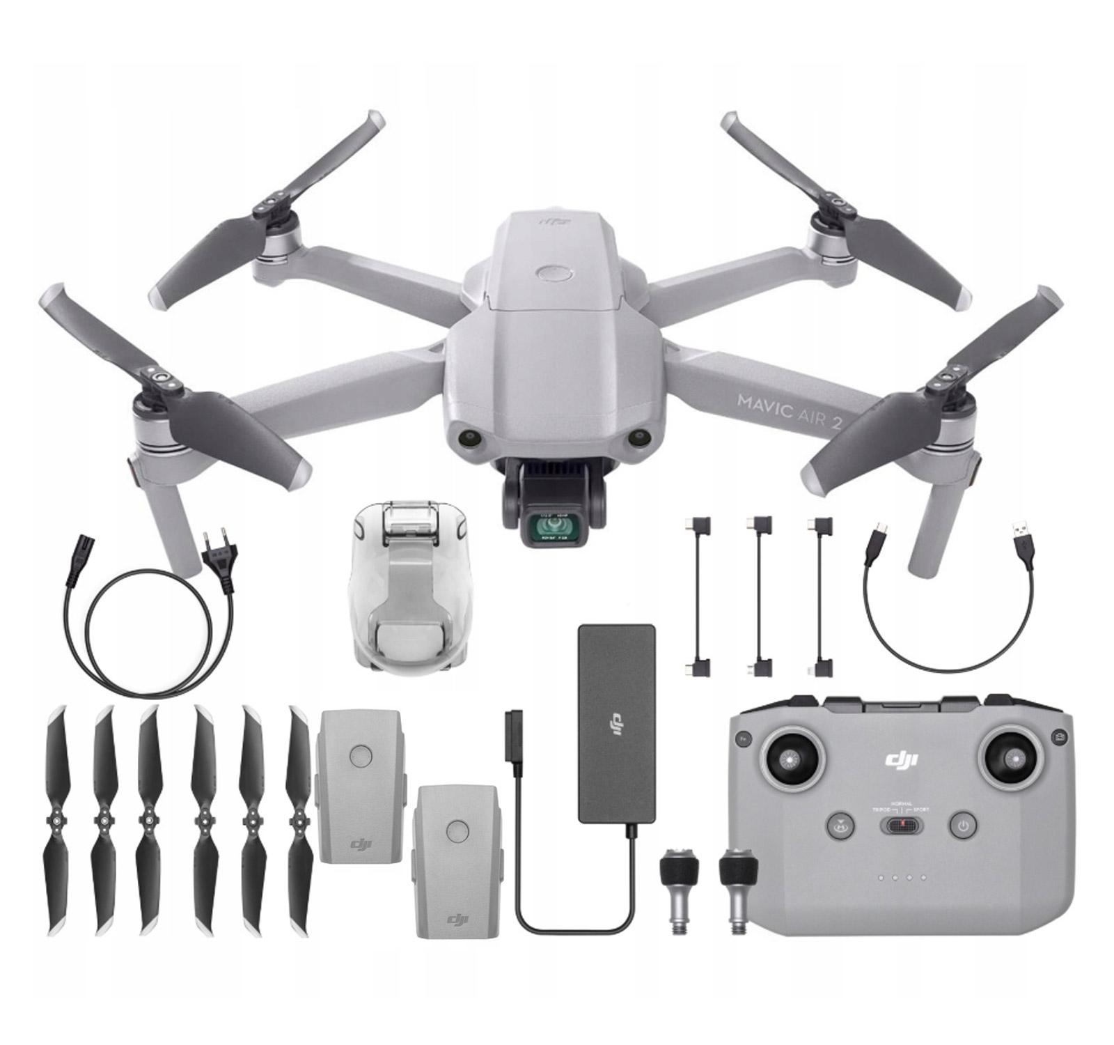 Dron DJI Mavic Air 2 4K GPS Kontroler Akcesoria
