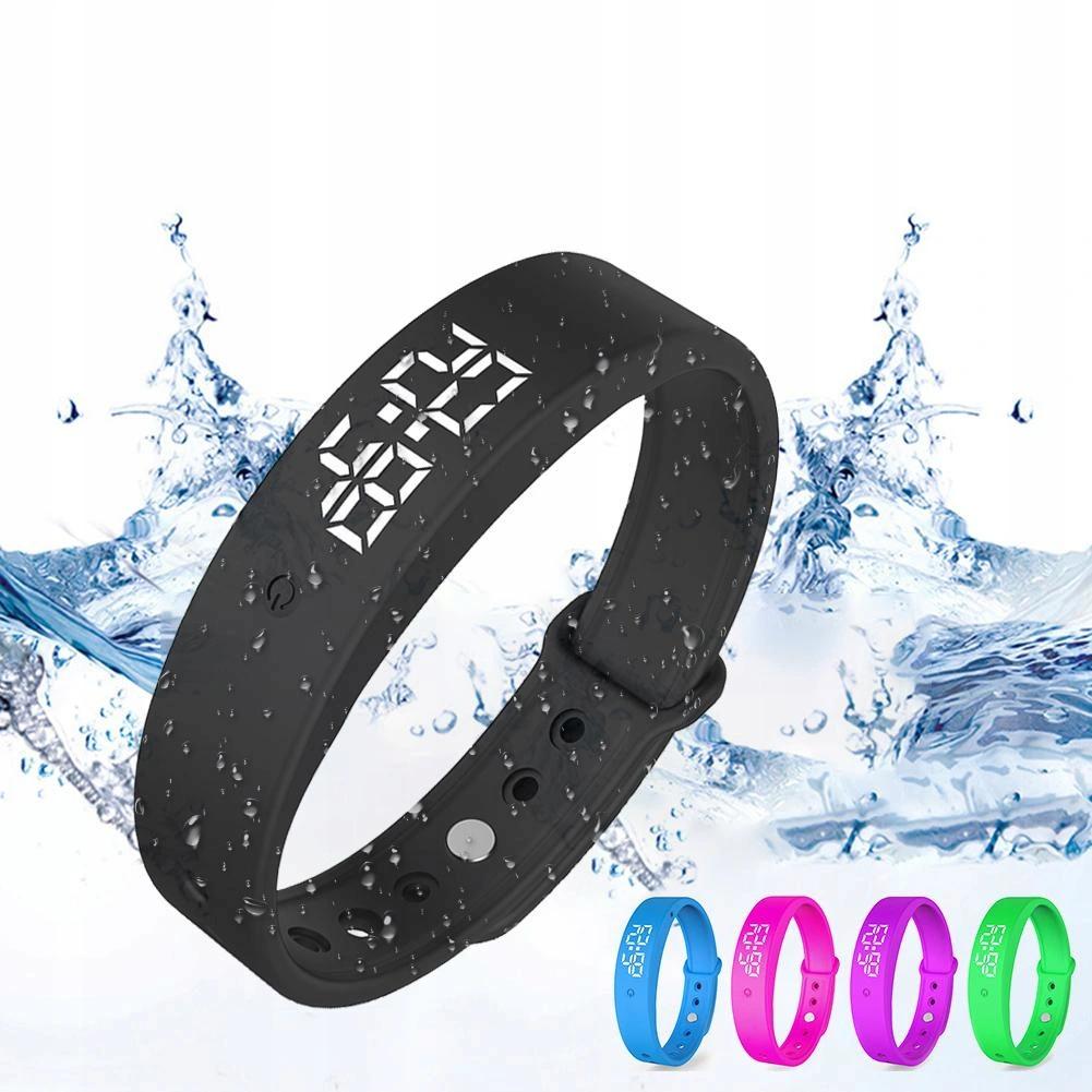 Купить Смарт-браслет THERMOMETER ALARM Vibration Waterproof V9 на Otpravka - цены и фото - доставка из Польши и стран Европы в Украину.