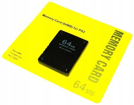 Pamäťová karta 64MB pre PS2 Všetky Playstation 2