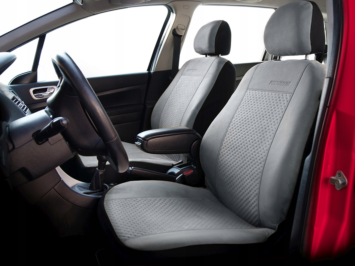Picture of SAAB 9-3 I II COVERS UNI GREY SUEDE LEATHER