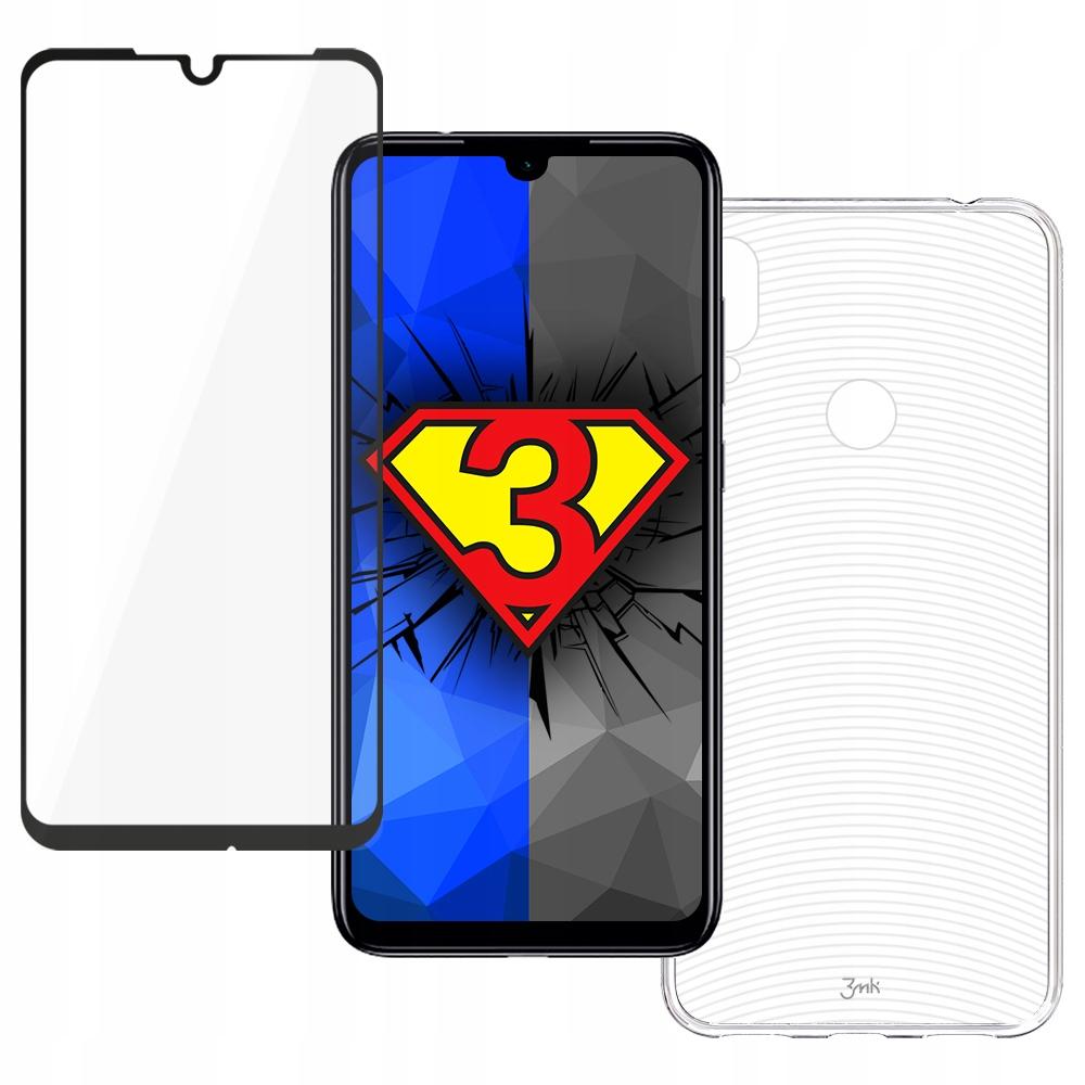 Szkło + Etui ------ 3mk ------ Xiaomi Redmi Note 7