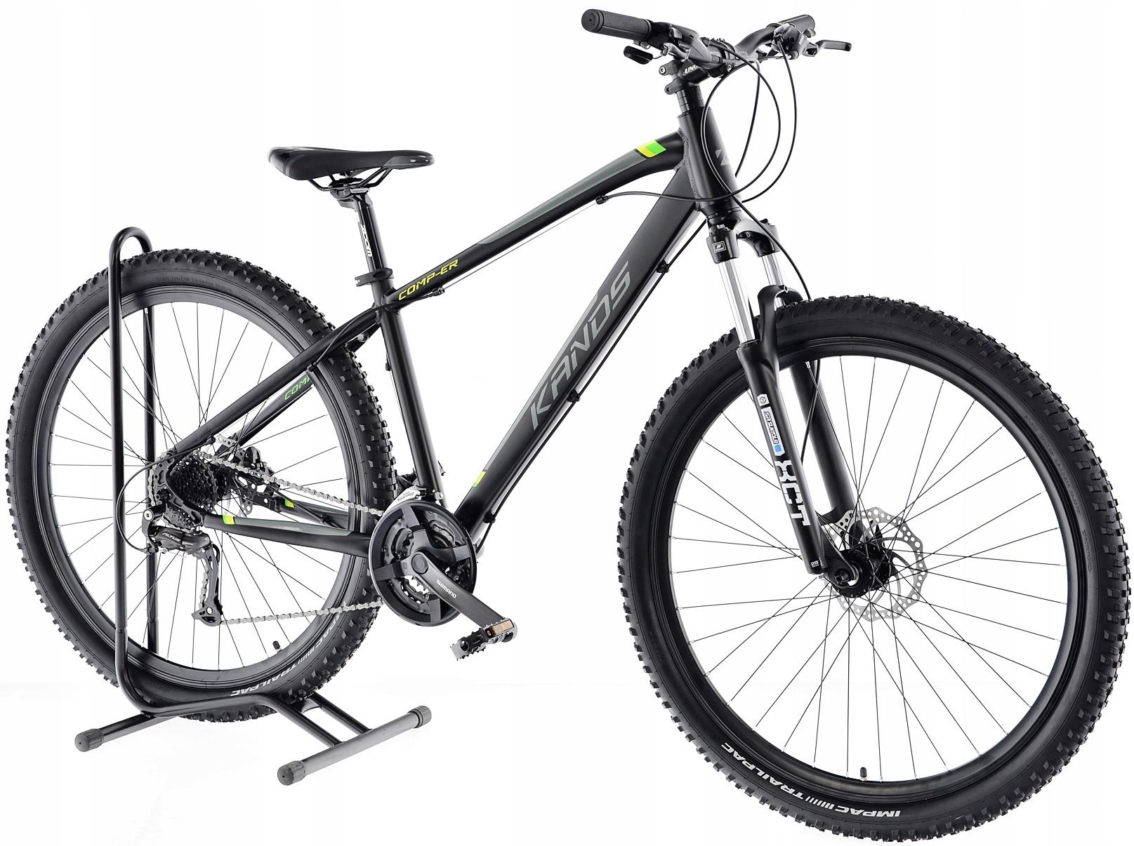 Rower MTB Kands 29 COMPER 21 czarno-seled 2021 Płeć kobieta mężczyzna chłopiec