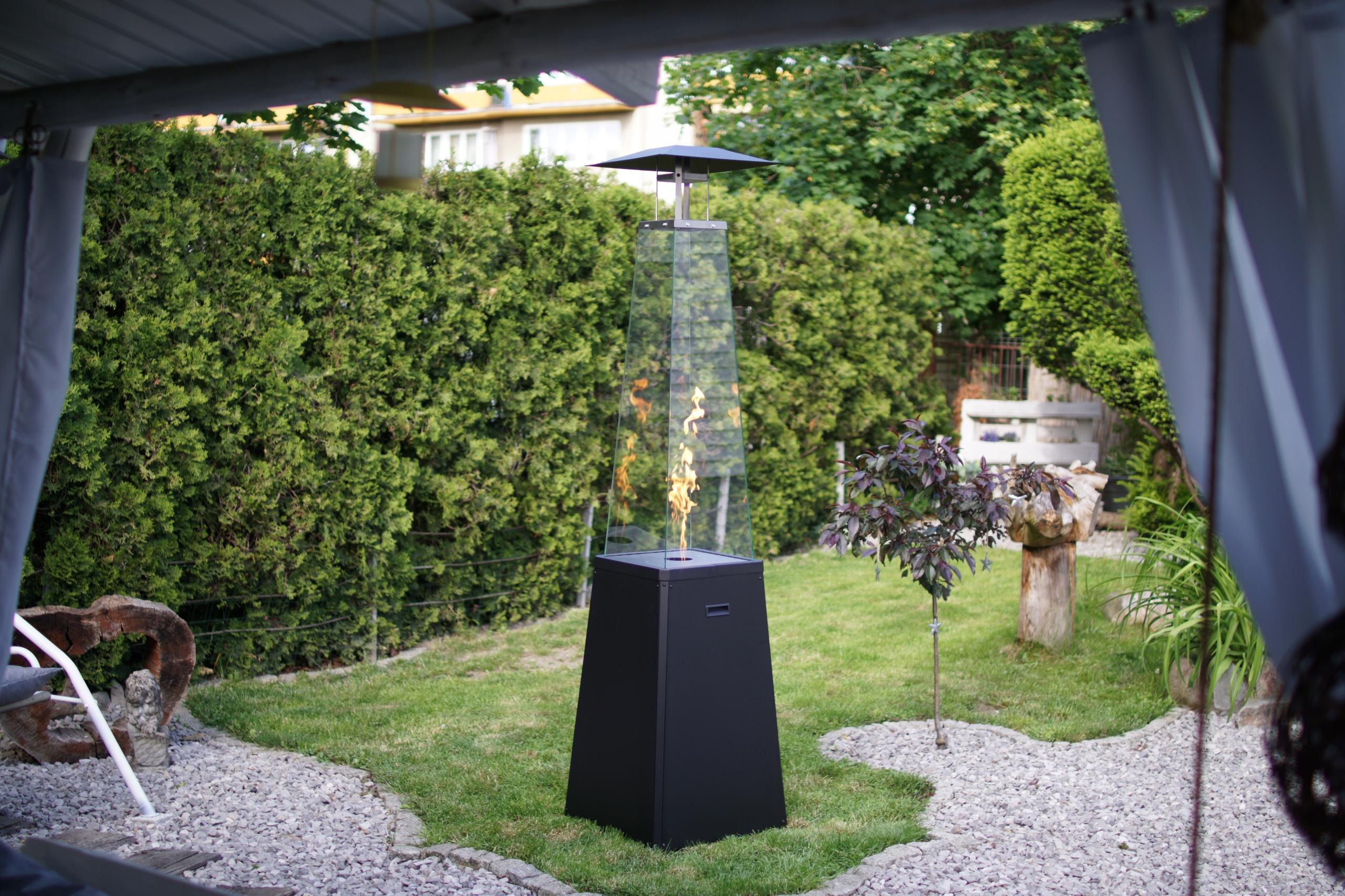 plynový ohrievač vykurovací dáždnik čierny UMBRELLA Hmotnosť produktu s jednotkovým balením 48 kg