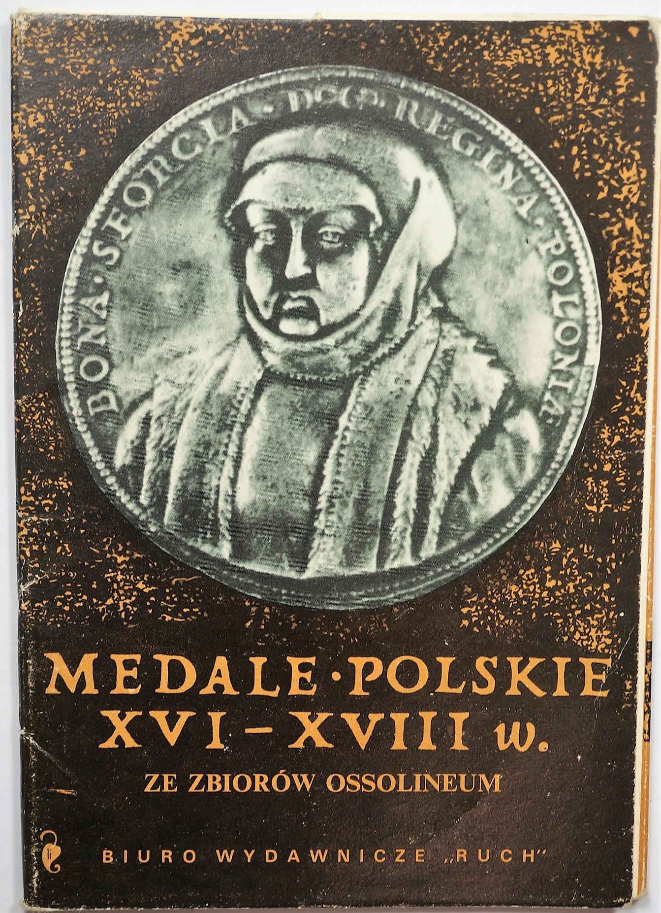 Poľské medaily XVI-XVIII Century pohľadnice