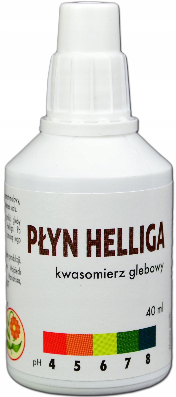 жидкость Helliga 40ml измеритель кислотности Почвенный Тестер pH