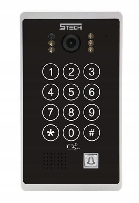 Wideodomofon Videodomofon WiFi 5TECH TELEFON DIN Typ domofonu Przewodowy Wi-Fi