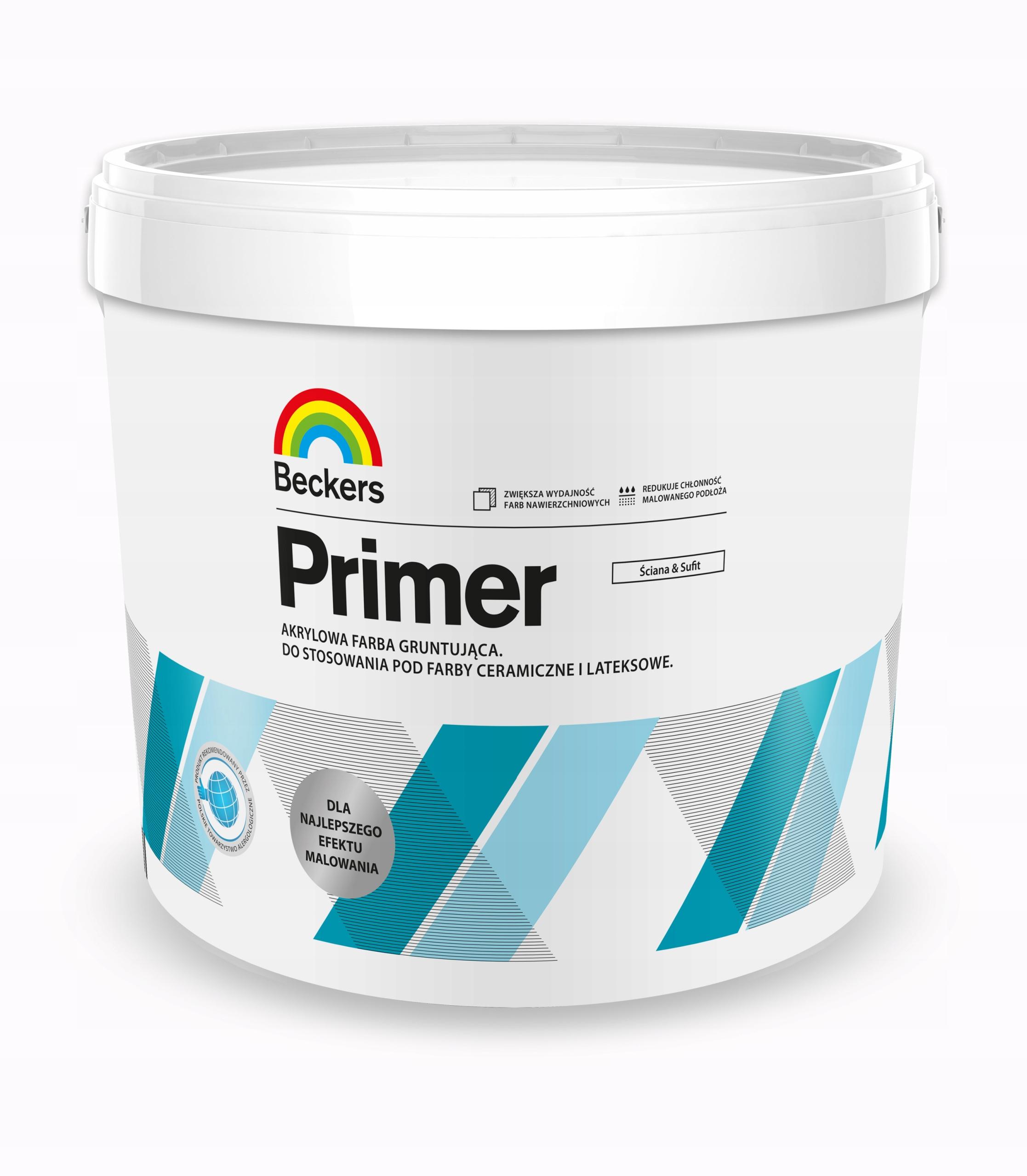 Beckers Designer Primer Grunt farba gruntująca 3L