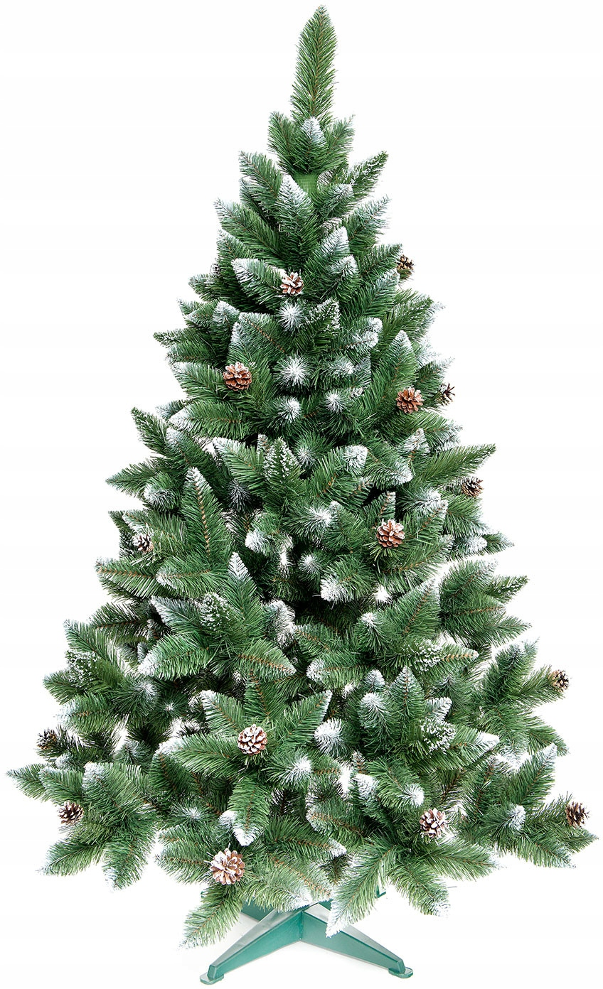 KRÁSNY vianočný stromček HUSTOTA DIAMANT 160 cm + stojan