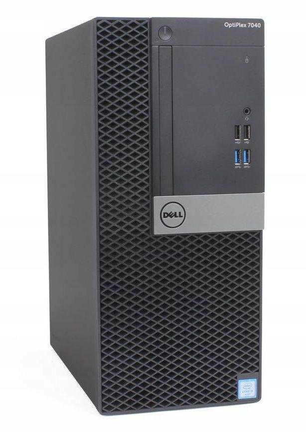 Dell Optiplex 7040 tower i5-6500 16 256 M2+500 W10
