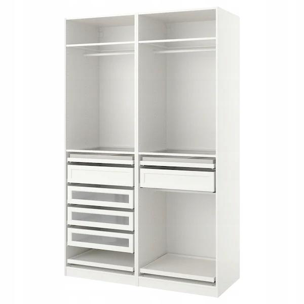 IKEA PAX Kombináciou skriňa biela 150x58x236 cm
