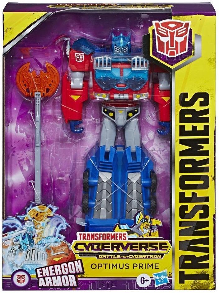 Transformers Optimus Prime CYBERVERSE Energon Armo