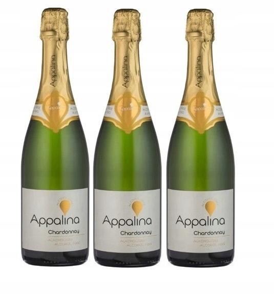 Wino BEZALKOHOLOWE Niemiecy Appalina zestaw 3 win