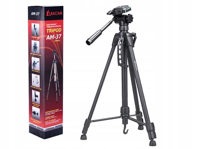 Statyw Foto-Video Racam-37 177cm 3d Futerał Poziom