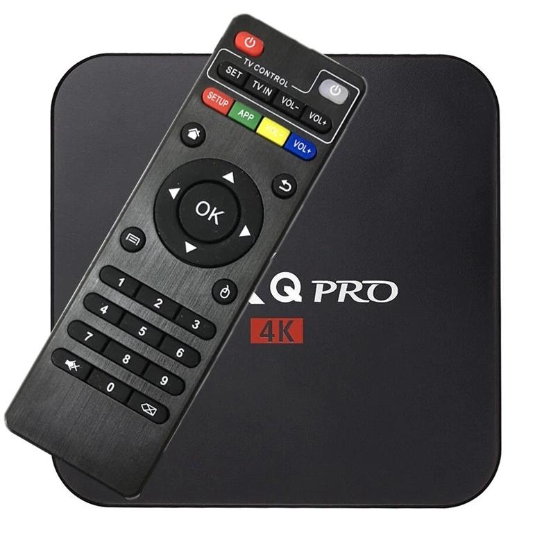 SMART TV BOX 8GB MXQ PRO 4K Android 7.1 ДЕКОДЕР