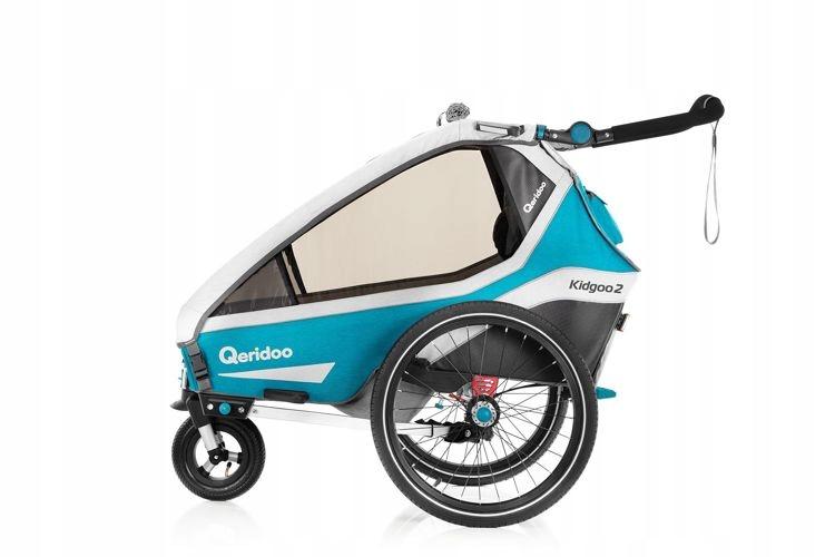 Zámok Trailer Bike Qeridoo Kidgoo 2 2020Petrol