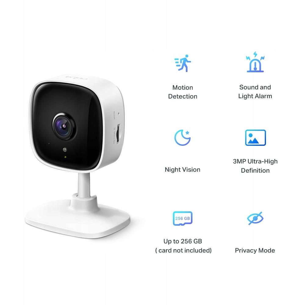 Kamera Ip TP-Link Tapo C110 3 Mpx WiFi Ir